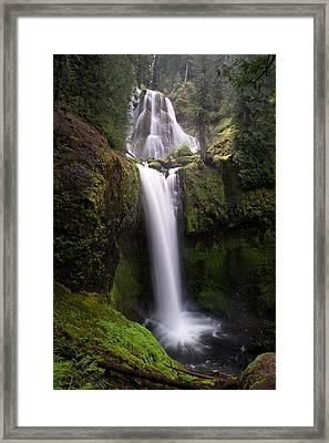 Falls Creek Falls Framed Print by Brian Bonham