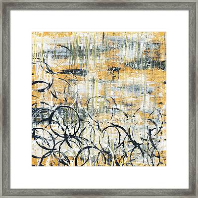 Falls Design 3 Framed Print by Megan Duncanson