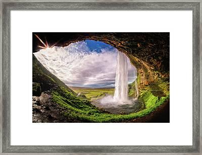 Falls Eye Framed Print