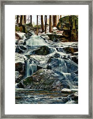 Falls Of Fogg Brook Framed Print