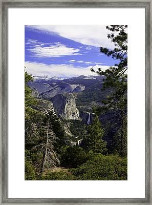 falls of Yosemite Framed Print by Jim Riel