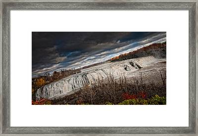 Falls Power Framed Print