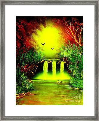 Falls08 E1 Framed Print