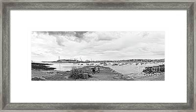 Falmouth Panorama Framed Print
