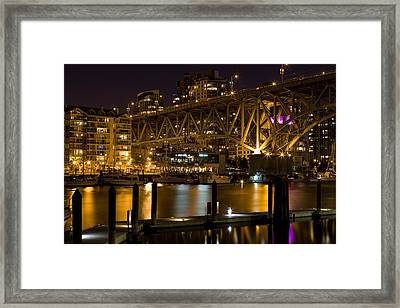 False Creek  Framed Print by Naman Imagery