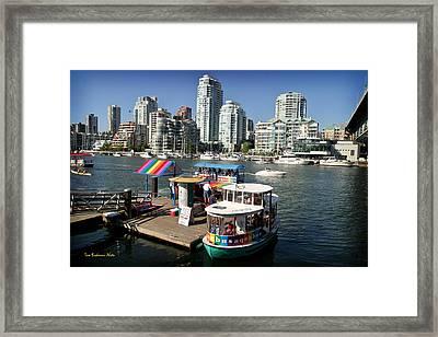 False Creek In Vancouver Framed Print