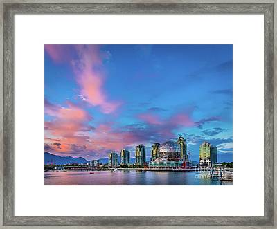 False Creek Framed Print by Inge Johnsson