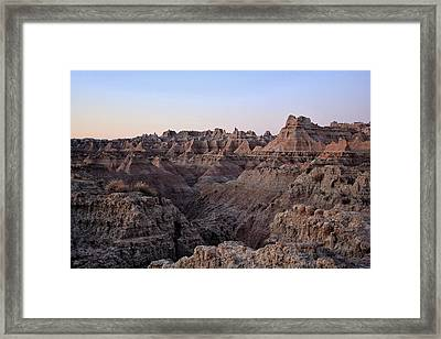 False Dawn Framed Print