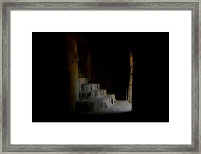 False Escape Framed Print