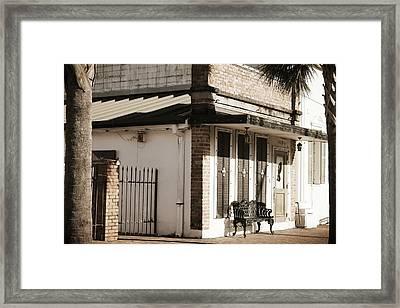 False Front Framed Print by Chelsea Fraisse