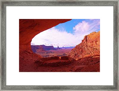 False Kiva Framed Print