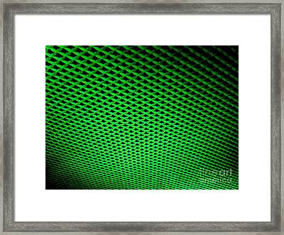 False Perception Framed Print