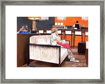 False Spring - Falsa Primavera Framed Print