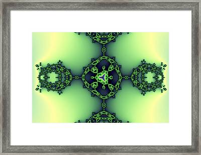 False Tricorn Byways No. 10 Framed Print by Mark Eggleston