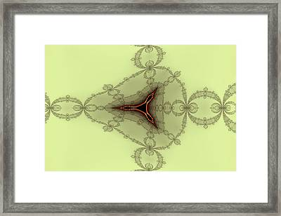 False Tricorn Byways No. 11 Framed Print by Mark Eggleston
