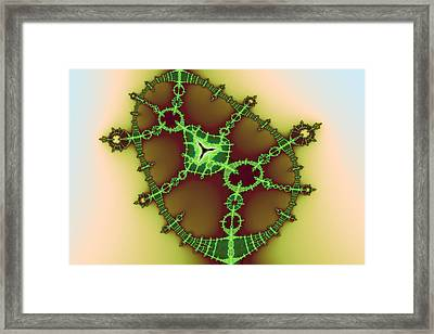 False Tricorn Byways No. 14 Framed Print by Mark Eggleston