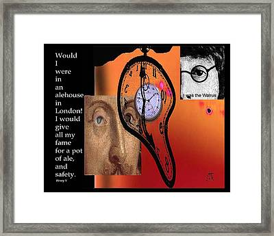 Fame And Fortune II Framed Print