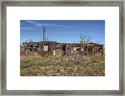 Families Deams Left Behind Framed Print by Thomas Todd