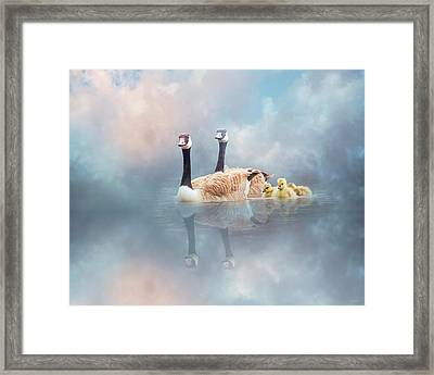 Family Cruise Framed Print