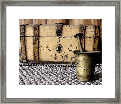 Family Heirlooms Framed Print by Grace Rose