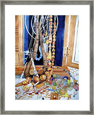 Family Jewels Framed Print by Sandy McIntire