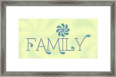 Family Framed Print by Liesl Marelli