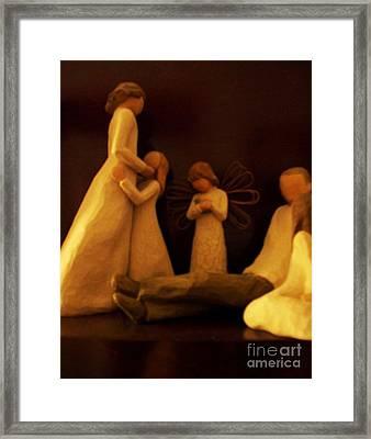 Family Framed Print by Marsha Heiken