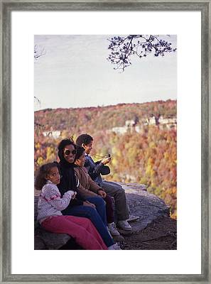 Family Outing Framed Print by Randy Muir