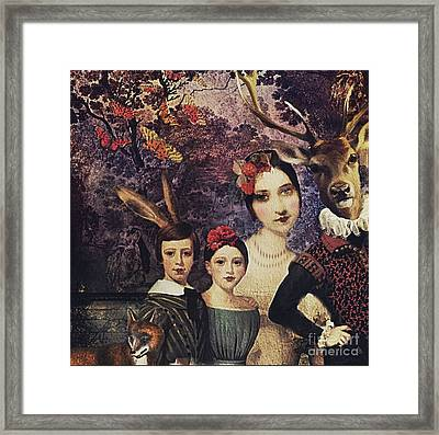 Family Portrait Framed Print by Alexis Rotella