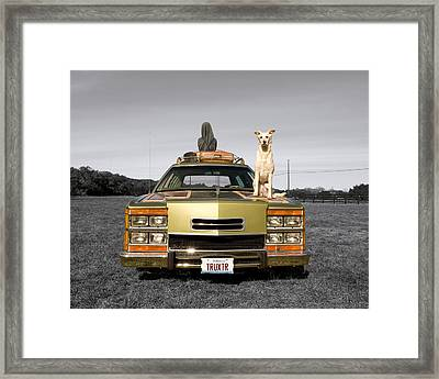 Family Queen Truckster Framed Print by Jimmy Bruch