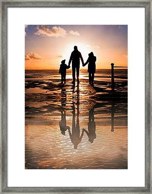 Family Reflections Framed Print by Tom Gowanlock