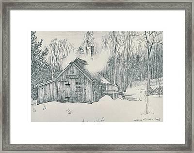Family Sap House Framed Print