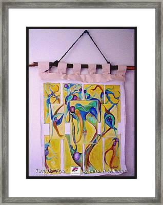 Family Tree Framed Print by Carol Rashawnna Williams