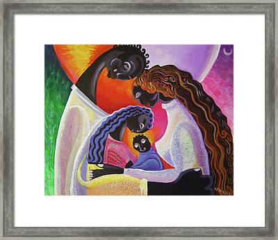 Family Unity Framed Print by Kevin McDowell