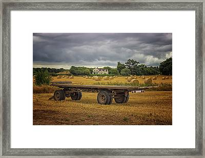 Famland Framed Print by Martin Newman