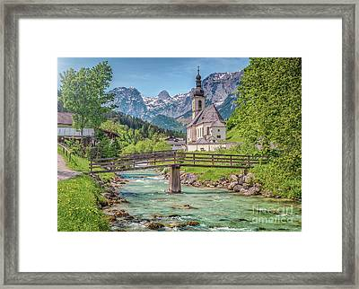 Idyllic Place To Be Framed Print