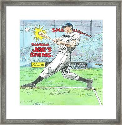 Famous Joes Swing Framed Print by Vic Carrabotta