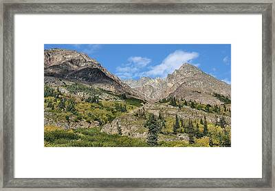 Famous White Pass Summit Framed Print by Dennis Stein