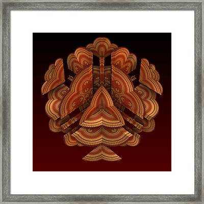 Fan Dance Framed Print by Lyle Hatch
