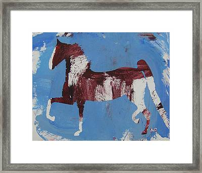 Fancy Trotter Framed Print