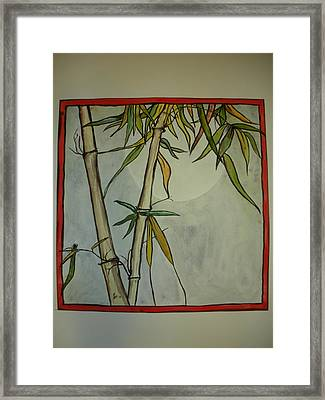 Fanciful Bamboo Framed Print