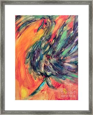 Fanciful Framed Print by Julie Engelhardt