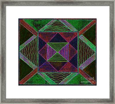Fanciful Sensation Framed Print by Norma Appleton