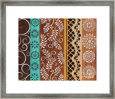 Fancy Bars 1 Framed Print by Karla Gerard