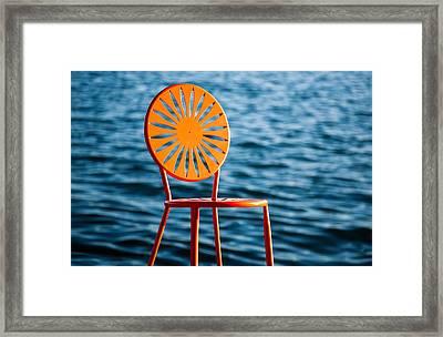 Fancy Chair Framed Print by Todd Klassy