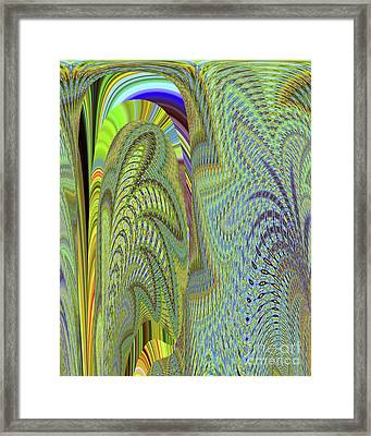 Fancy Dancer Framed Print by Ann Johndro-Collins