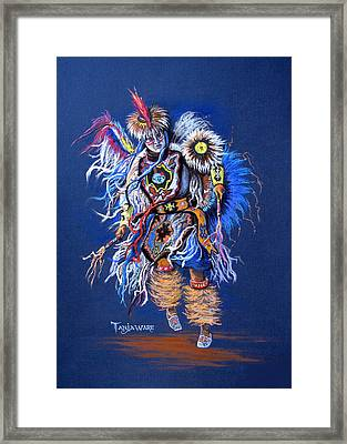 Fancy Dancer II Framed Print by Tanja Ware
