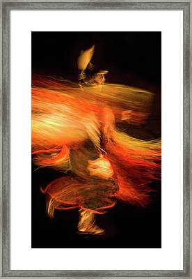Fancy Dancer Framed Print by Jeremiah Armstrong