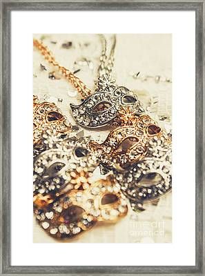 Fancy Dress Timepieces Framed Print