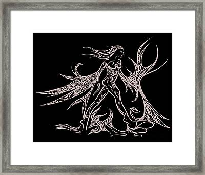 Fancy Flight  Framed Print